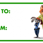 Disney's Zootopia New Poster and Free Christmas Activity Sheets #Zootopia