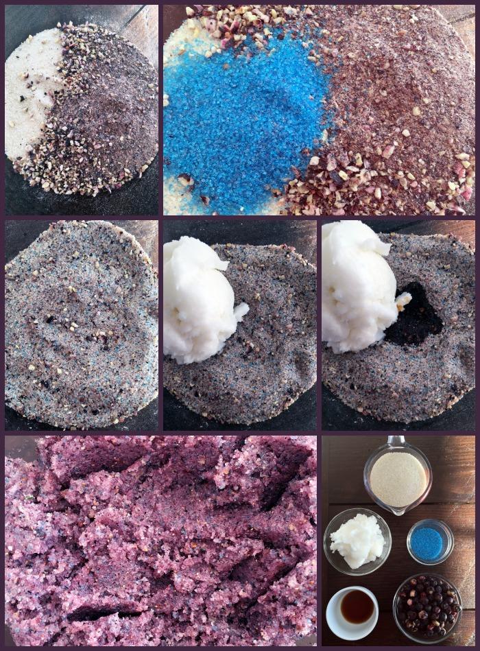 Blueberry Sugar Scrub