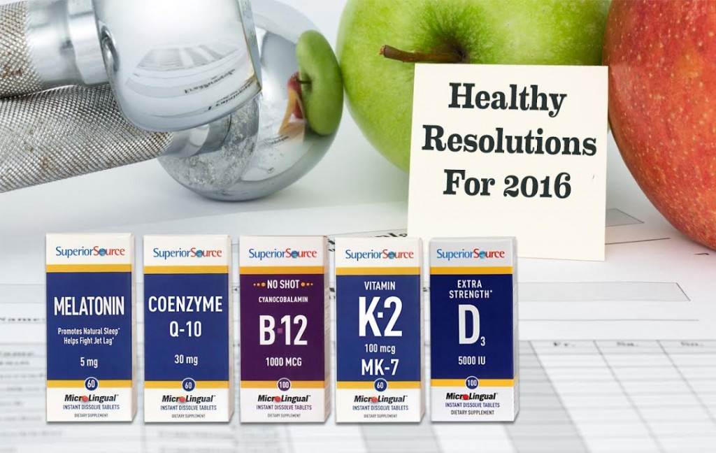 Healthy Resolutions 2016
