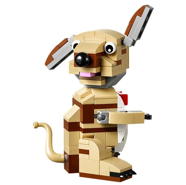 LEGO Valentine Cupid Dog