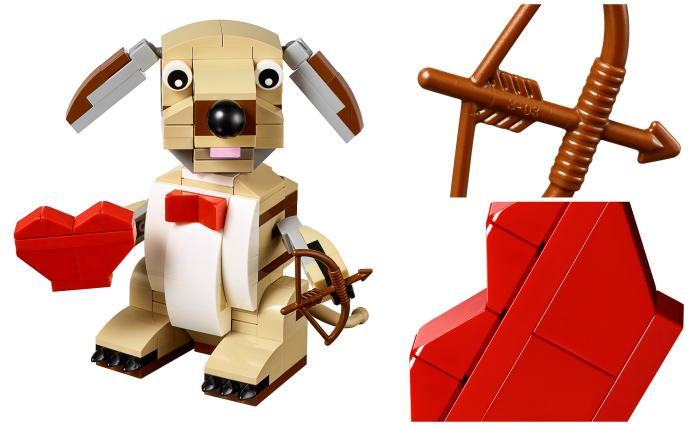 Legos Valentine's Kit