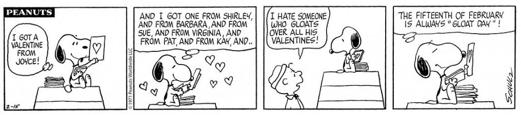 Peanuts Valentines