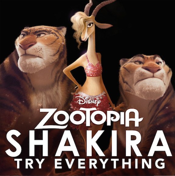Shakira in Zootopia