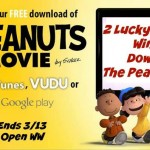 The Peanuts Movie Digital Download Giveaway