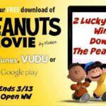 The Peanuts Movie Digital Download Giveaway