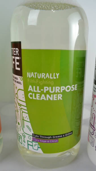 Better Life Natural Cleaning Products Its Free At Last