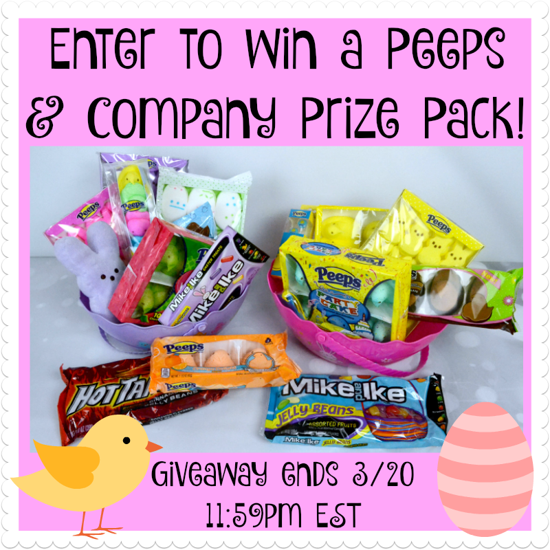 Easter Peeps and Co Prize Pack Giveaway
