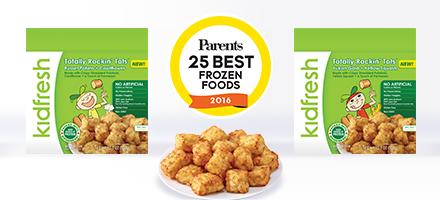 Kidfresh Totally Rockin Tots Parents 25 Best Frozen Foods