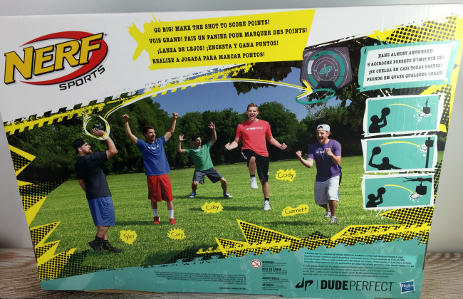 Nerf Dude Perfect Perfect Shot Hoops