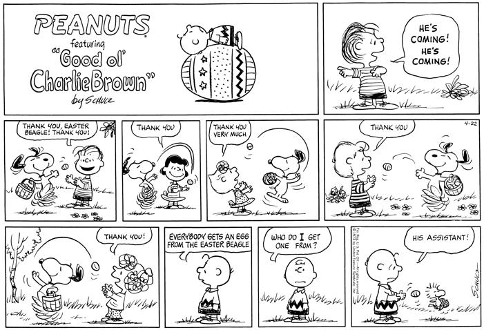 Peanuts-Easter-Comic-Strip