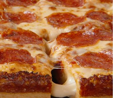 Stuffed Crust Is An All New Product For Little Caesars Featuring Over 3 1 2 FEET Of Ooey Gooey Cheese Baked Into The In Addition To 8