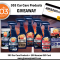 303 Car Care Products Prize Package Giveaway