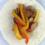 al fresco Chicken Sausage, Onions and Peppers Recipe + Enter To Win a Weekend in NYC!