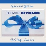 All Moms are Special Giveaway Hop! Win a $20 Bed Bath & Beyond Gift Card #SpecialMoms