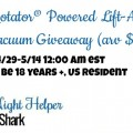 Shark Rotator Powered Lift-Away Speed Vacuum Giveaway