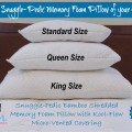 Snuggle-Pedic Shredded Memory Foam Pillow Giveaway