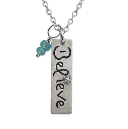 Believe Necklace 1