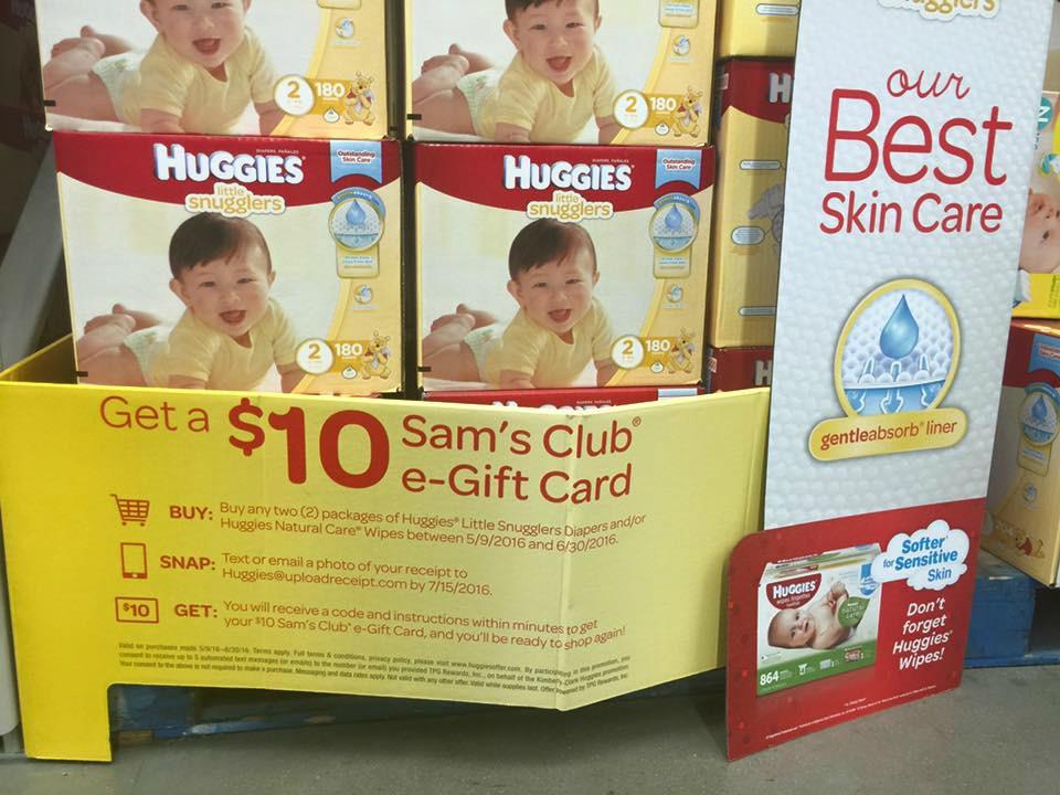 Huggies Sams Club Deal