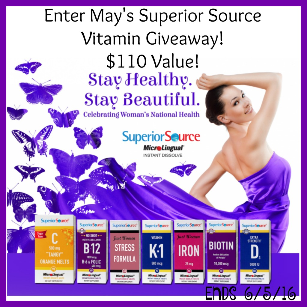 May 2016 Superior Source Giveaway