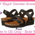 Naot Kayla Sandals Giveaway