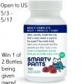 SmartyPants Men's Complete Vitamin Giveaway