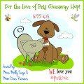 For the Love of Pets Giveaway Hop – Win $25 PetSmart Gift Card #PetLove