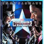 Marvel's Captain America: Civil War on DVD/Blu-Ray September 13th