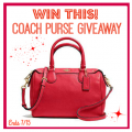 Coach Handbag Summer Giveaway