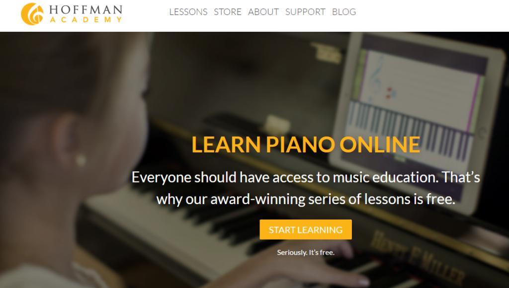 Hoffman Academy Homepage