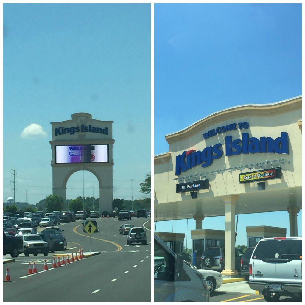Kings Island Entrance