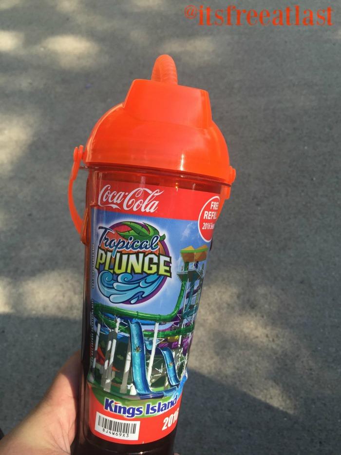 Kings Island Souvenir Drink Bottle