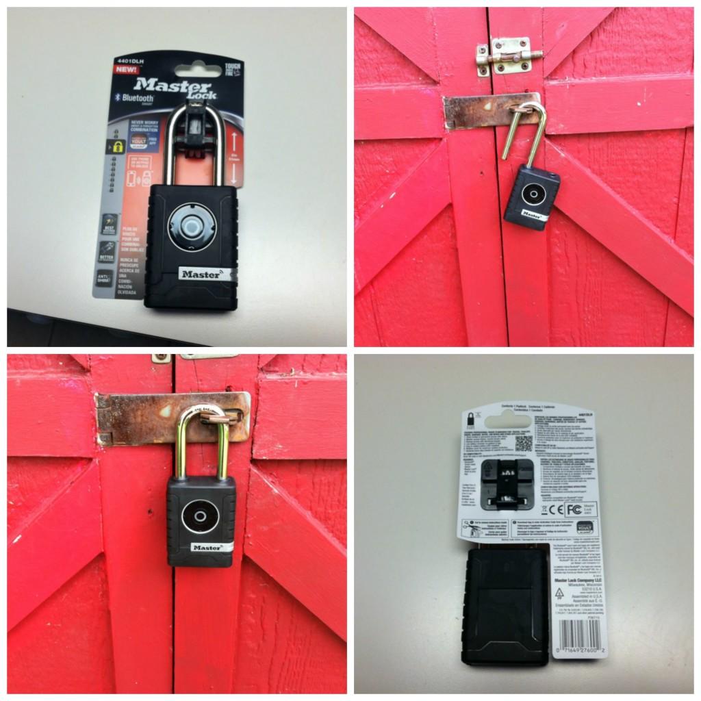 Master Look Bluetooth Outdoor Lock