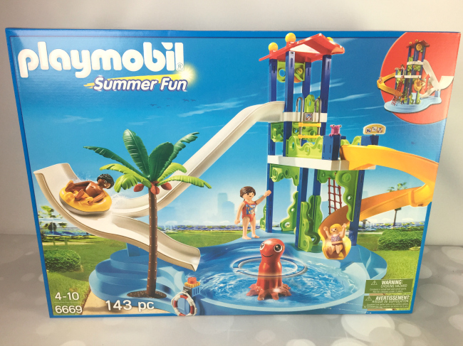 Playmobil Water Park With Slides Playset Giveaway Ends 7