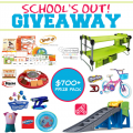 School's Out Giveaway – TONS of prizes