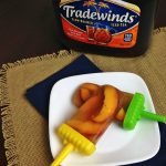 Tradewinds Sweet Tea Peach Ice Pops #MomentstoSavor