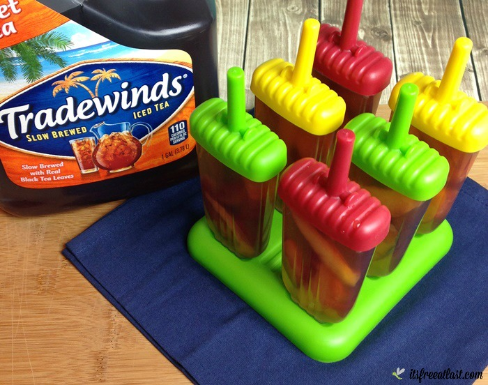 Tradewinds Sweet Tea Peach Ice Pops process 2