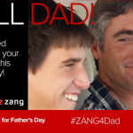 Send Dad a Free Forget-Me-Not Message this Father's Day #Zang4Dad #FathersDay