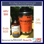 Win Neocell Collagen Sport and Hyaluronic #Giveaway