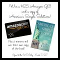 America's Simple Solutions & $25 Amazon Gift Card Giveaway