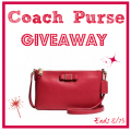 August Coach Purse Giveaway