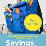Back to School Shopping and Earning Rewards with Savings Guarantee on Coupons.com
