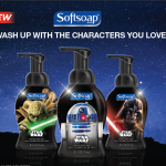 Soft Soap Star Wars and Frozen Line Handsoaps Perfect for Messy Hands