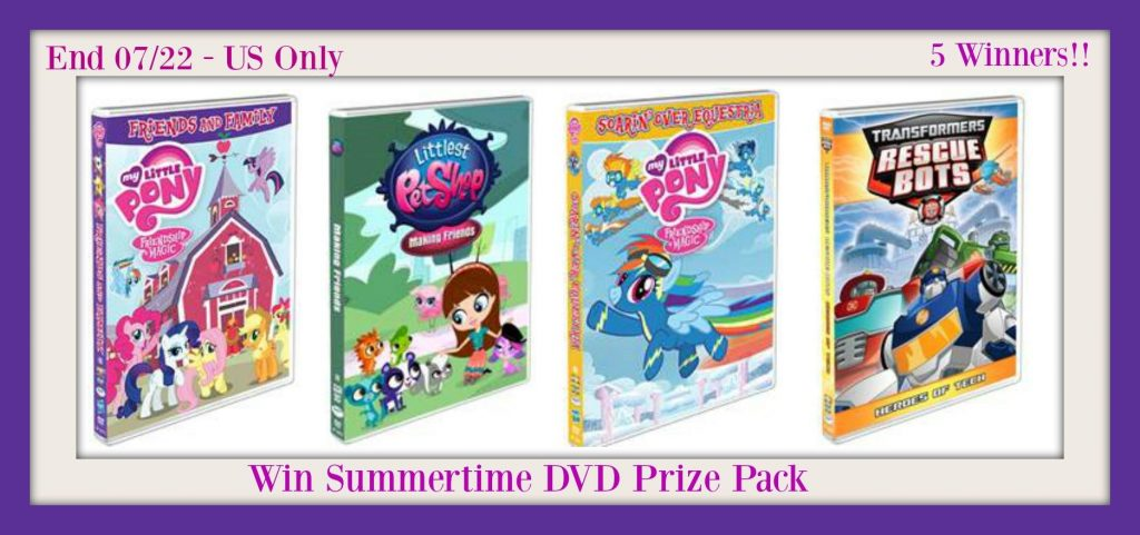 Summertime TV DVD Roundup