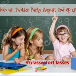 New Glasses for School?? Don't Miss #GlassesForClasses Twitter party on 8/2 – RSVP Here
