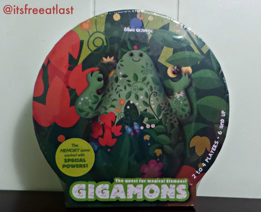Gigamons Matching Game