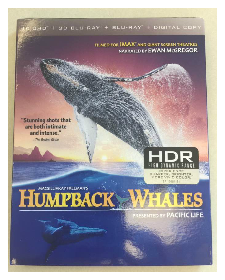 Enter the Humpback Whales DVD Shout! Factory Giveaway. Ends 8/24