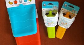 Kinderville Refillable Food Pouches are Perfect for Snacks & Lunch