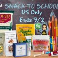 PRI Back to School Snacks Giveaway