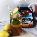 Tradewinds Black Iced Tea Lemonade with Mint Recipe #MomentstoSavor