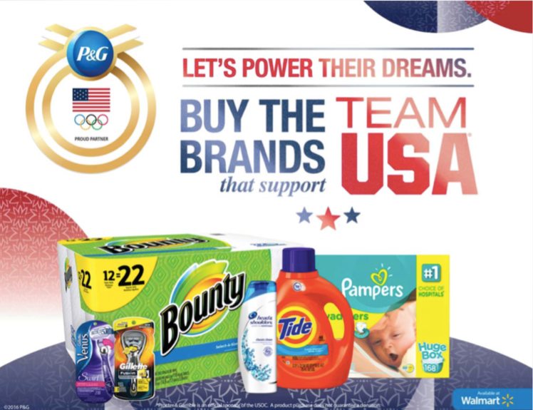Walmart P&G Products